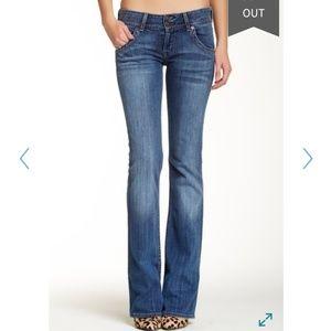 Hudson premium denim boot leg jeans